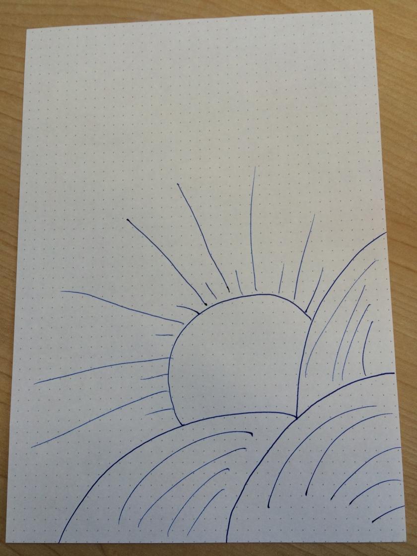 Sunshine Doodle - The Doodle