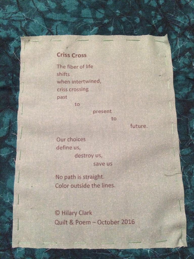 Criss Cross (Hot Cross 5) - Poetry Label